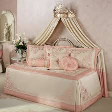 Bedroom: Attractive Daybed Comforter Sets For Modern Bedroom ... & Princess Blush Daybed Bedding with daybed comforter sets and grey carpet  for bedroom design Adamdwight.com