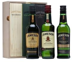 jameson irish whiskey trilogy gift set 200ml