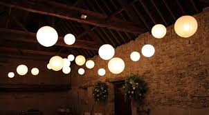 White Outdoor String Lights Large