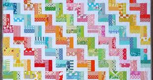 Red Pepper Quilts: Zig Zag Rail Fence Quilt and New Quilt Pattern &  Adamdwight.com