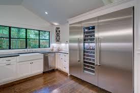 Huge Refrigerator Silver Lake Second Story Addition Transformation Randy Glazer
