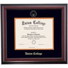 union ky school color traditional diploma frame union college  union ky school color traditional diploma frame