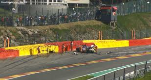 Pietro Fittipaldi undergoes surgery after breaking both legs in horror  crash at Spa World Endurance Championships