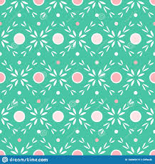 Lovely Abstract Flower Seamless Pattern ...
