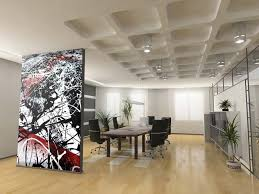 Wallpapered Office Home Design Keep It Simple Wallpapered Office Home Design O