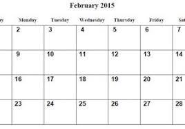 Free Calendar Template February 2015 February 2015 Calendar Free