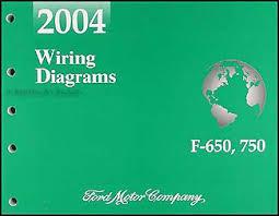 2004 ford f650 f750 medium truck repair shop manual original related items