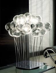 contemporary table lighting. sphere is one of the most attractive modern table lamps ever made this impressive lamp centerpiece any room twelve handblown italian glass contemporary lighting