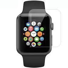 Miếng dán PET bảo vệ màn hình cho đồng hồ thông minh Apple Watch Series 1 2  3 38mm / 42mm