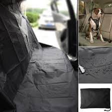 universal waterproof car rear back seat cover pet heavy duty protector nylon