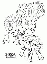 Pokemon Printables Coloring Pages Suicune Many Interesting Cliparts