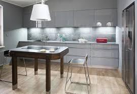 Image Lettuceveg Small Kitchen Design Ideas Modern Grey Kitchen Cabinets Under Cabinet Lighting Deavitanet Trendy Grey Kitchens Charismatic Modern And Elegant Designs Deavita