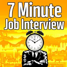 Career Interview Tips 7 Minute Job Interview Podcast Job Interview Tips Resume