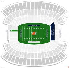 Gillette Seating Chart With Rows The Amazing Gillette Stadium Seating Chart Seating Chart
