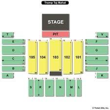Etess Arena At Hard Rock Hotel And Casino Seating Chart 22 Judicious Taj Mahal Arena Seating Chart