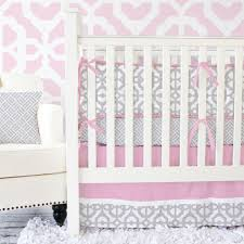 attractive image of baby girl nursery room with unique baby girl crib bedding set stunning