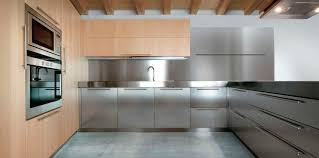 Stainless Steel Kitchen Designs Contemporary Kitchen Designs With Stainless Steel Cabinets