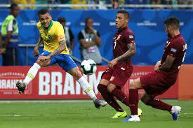 บราซิล' เจ๊าจืด 'เวเนซุเอลา' 0-0 ยิงเข้ากรอบหนเดียว แต่ยังนำจ่าฝูงกลุ่มเอ  โกปา อเมริกา