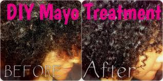 mayo deep conditioning protein treatment on natural curly hair diy you
