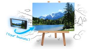 Put Your Photos on Canvas, Customize with Text, Colors & More!