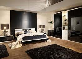 men bedroom furniture. Masculine Bedroom Furniture Black Brick Wall Interior Decorating Wood Varnish Nigh Stand Table White Fabric Bed Cover Sectional Fur Rug Modern Closet Men
