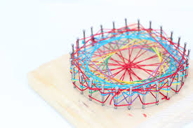 ... Math Art Idea: Use string art to teach math and geometry concepts to  kids
