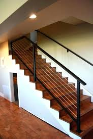 basement stairs railing. Stair Finishing Ideas Basement Stairs Decor For  Railing Designs