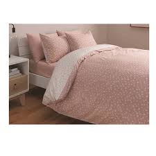 sainsbury s home blush heart bed set