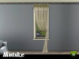 canton sheer curtain right