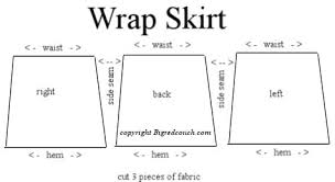 Wrap Skirt Pattern Unique Wrap Skirt Home Grown