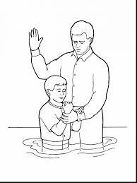 Coloring Pages : Amazing Baptism Coloring Page Pages Baptism ...