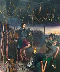 neo rauch aprilnacht 2016 oil on canvas 118 1 8