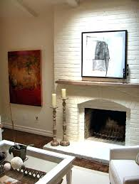 wooden mantel over brick fireplace wood attached mantels