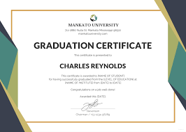Template Certificate Of Graduation Fresh Certificate