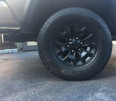 trd off road wheels painted black tacoma world i plasti dipped mine