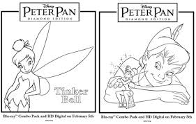 Small Picture Free Peter Pan Coloring Pages