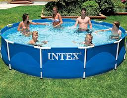 Бассейн каркасный <b>Intex Metal Frame</b> Pool, <b>366х76</b> см 28210 - 9 ...