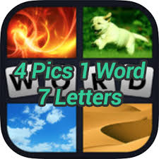 4 Pics 1 Word 7 Letters
