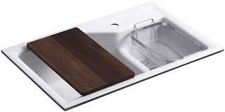 Kohler K 6411 1 0 Indio Undercounter Double Offset Basin Kitchen