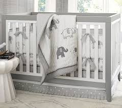 taylor elephant baby bedding set pottery barn kids baby crib bed sets