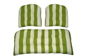outdoor wicker settee cushions piece cushion set indoor loveseat matching chair tuf medium size