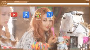 Red Velvet Ice Cream Cake 3 Joy Wendy Chrome Theme Themebeta