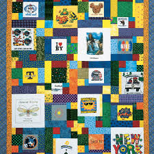 Free T-Shirt Quilt Patterns - How to Make Your Own T-Shirt Quilts ... & T-Shirt Quilt DIY: T-Shirt Memories by The Quiltmaker Staff Adamdwight.com