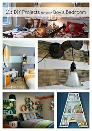 diy boy bedroom projects