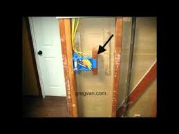 home wiring the wiring diagram 3 gang electrical box backing home building tips house wiring