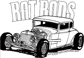Small Picture Cartoon Critters ratrod 1 coloring page