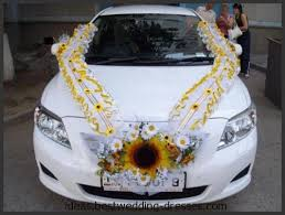 Wedding Car Decorations Accessories Best Wedding Car Decoration Silk flowers decoration wedding cars 96