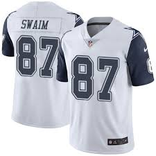 Swaim Geoff Cowboys 87 Jersey Dallas