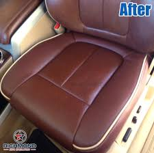 2009 2016 ford f 150 king ranch leather seat cover driver bottom king ranch