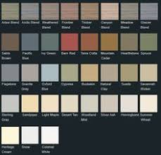 Mitten Siding Color Chart 35 Best Vinyl Siding Colors Images Siding Colors Vinyl